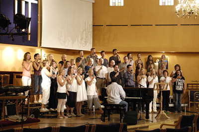 GOSPEL CENTRAL concert at Centralkirken, Oslo